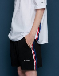 [SLOWACID] Sideline Short pants [BLACK]