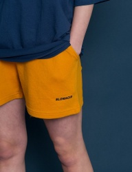 [SLOWACID] pH5.5 Logo Short pants [YELLOW]