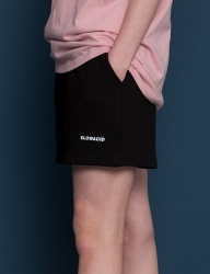 [SLOWACID] pH5.5 Logo Short pants [BLACK]