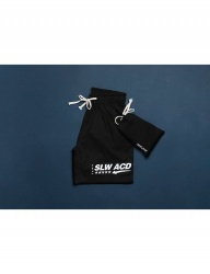 [SLOWACID] Shorts & Bag [BLACK]