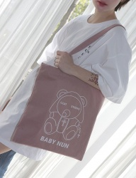 [CLUTSTUDIO] baby nun eco bag pink