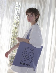 [CLUTSTUDIO] baby nun eco bag violet
