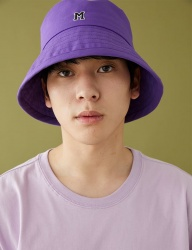 [MSKN2ND] M LOGO BUCKET HAT ULTRA VIOLET