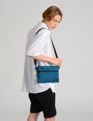 [costume oclock] T25H M SACOCHE BAG BLUEGREEN