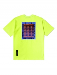 [QT8] TW Blue Frame Tee (Neon)