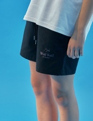 [WaiKei] WaiKei Hot Summer Unisex Short Pants_Black