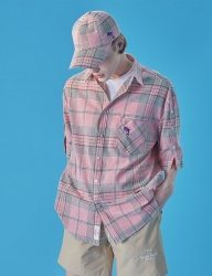 [WaiKei] WaiKei Hot Summer Check Cap_Pink