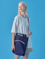 [WaiKei] WaiKei Hot Summer Color Strap Eco Bag_Navy