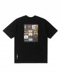 [QT8] TW City Aloha Tee (Black)