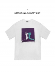[WONDER MEME] International Summer T-Shirt - White