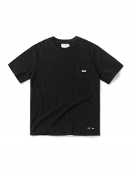 [CRITIC] BASIC LOGO POCKET T-SHIRT(BLACK)