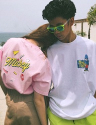 [CRITIC] CRITIC X DISNEY Mickey Summer Breeze Tee(PINK)
