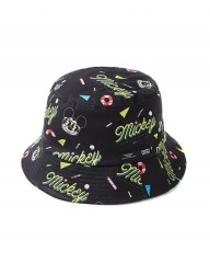 [CRITIC] CRITIC X DISNEY Mickey Summer Breeze Bucket Hat(BLACK)