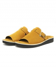 [The Wankers] Suede Single Strap [Yellow]
