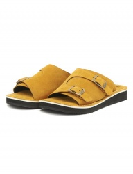 [The Wankers] Suede Double Strap [Yellow]
