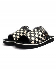 [The Wankers] Checkerboard Single Strap [Black]
