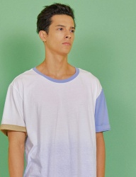 [INDIGO CHILDREN] MULTI DYED T-SHIRT [MULTI]