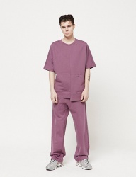 [CLIF] LOGO TRACK PANTS _ PURPLE