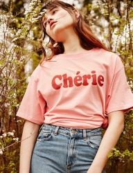 [CLIF] CHERIE TEE _ PINK