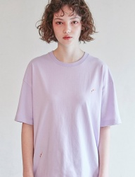 [CLIF] POOL T-SHIRT _ LIGHT PURPLE
