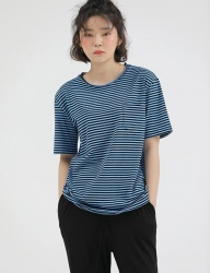[REORG] GO STRIPE T-SHIRT BLUE