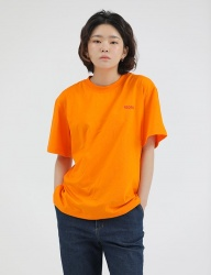 [REORG] R PRINGTING ROGO T-SHIRT ORANGE