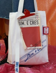 [DIM.E CRES.] CLIP ECO BAG_WHITE