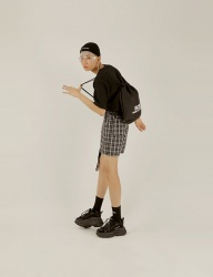 [BASIC COTTON] basic summer set - black