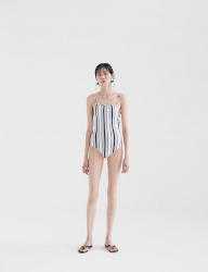 [NONLOCAL] Pure One-piece [Stripe]