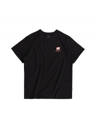 [ulkin] UL:KIN ARTIST T-SHIRTS_HOW SLOTH MOVE_BLACK