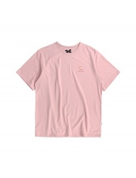 [ulkin] UL:KIN ARTIST T-SHIRTS_HOW SLOTH MOVE_PINK