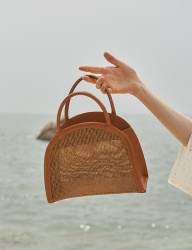 [TMO BY 13MONTH] [TMO X AWESOMENEEDS] SUMMER LEATHER BAG