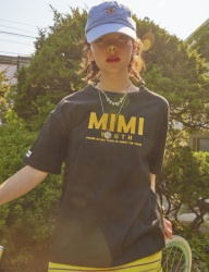 [MIMICAWE] MIMI YOUTH HALF TOP/BLACK
