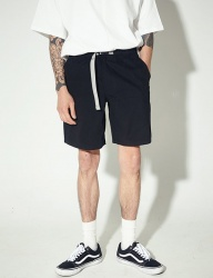[STONYSTRIDE] 3M SIDE STRIPE SHORT [BLACK]