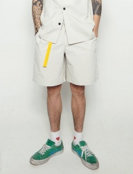 [STONYSTRIDE] 3M SIDE STRIPE SHORT [CREAM]