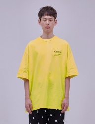 [ENZO BLUES] CHILLERS BIG T-SHIRT_LEMON