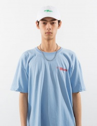 [ENZO BLUES] eB LOGO T-SHIRT_BLUE