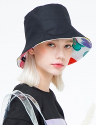 [THE GREATEST] GT 18SUMMER 08 HEART BUCKET HAT BK