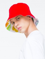 [THE GREATEST] GT 18SUMMER 08 HEART BUCKET HAT RED
