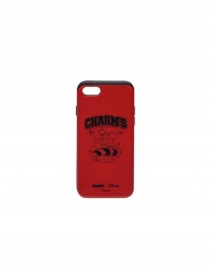[CHARMS] Surfer Kermit logo case red