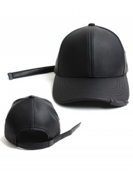[UNIVERSAL CHEMISTRY] FRANKS CHOPSHOP LEATHER LONG STRAP BALLCAP