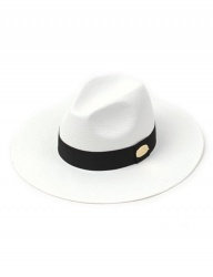 [UNIVERSAL CHEMISTRY] Summer Metal Long Fedora WH