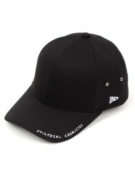[UNIVERSAL CHEMISTRY] Simple Down Logo Ballcap