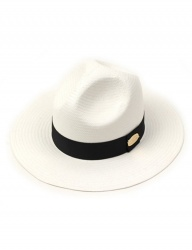 [UNIVERSAL CHEMISTRY] Black Line Summer Y Fedora WH