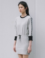 [SINOON] fanni dress (grey)