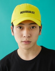 [MSKN2ND] INDIVIDUALIST BALL CAP YELLOW