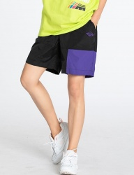[motivestreet] NYLON BANDING SHORT BLACK