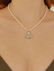 [MATIAS] Blooming pearl Necklace