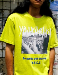 [youthbath] revolution graphic short sleeve t-shirt neon
