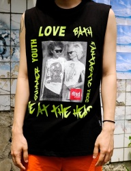 [youthbath] Funk sleeveless black